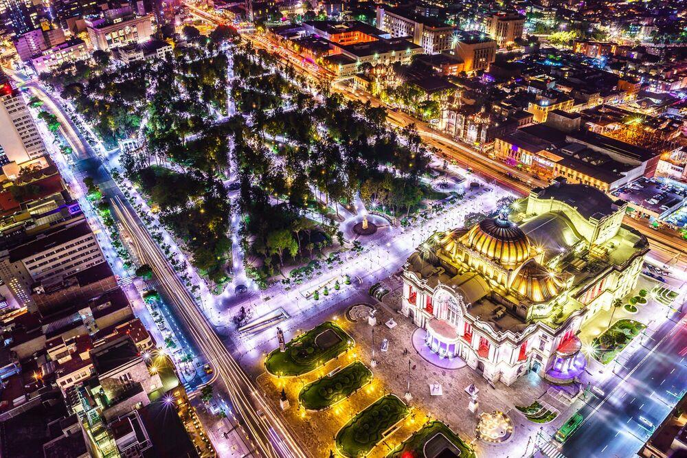 Fotografia Palace vue du ciel - SERGE RAMELLI - Pittura di immagini