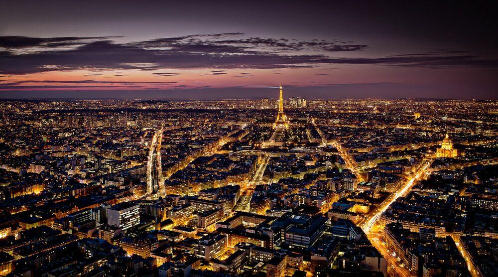 Fotografia Paris vu du ciel - SERGE RAMELLI - Pittura di immagini