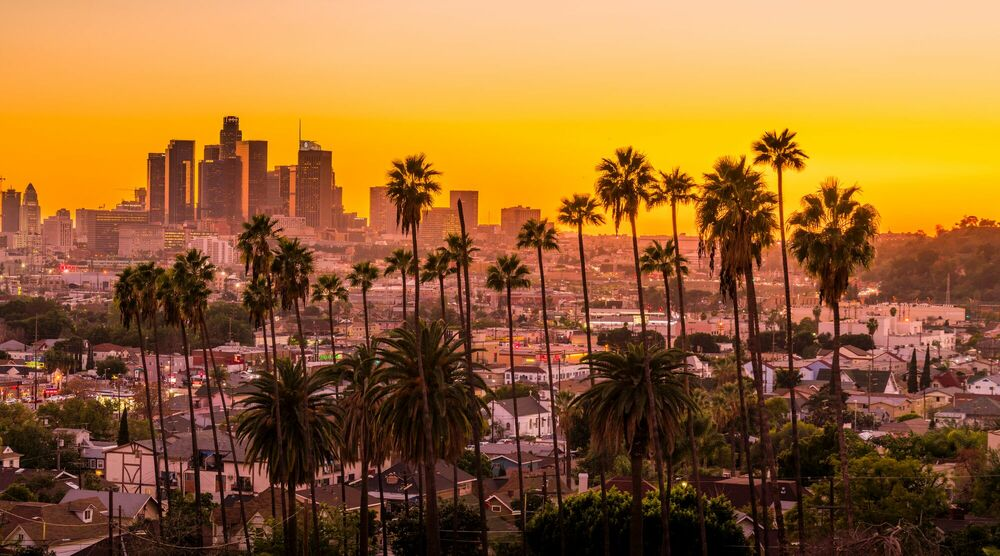 Fotografie SUNNY LOS ANGELES - SERGE RAMELLI - Bildermalerei