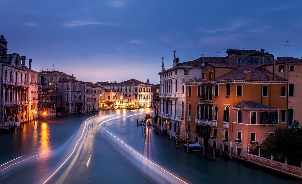 Fotografie Venise by night - SERGE RAMELLI - Bildermalerei