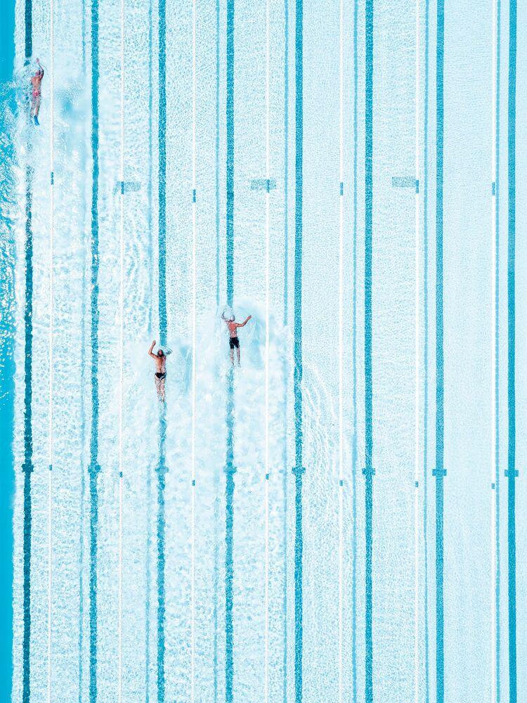 Fotografie OLYMPIC LINES - SERGIO VILLALBA - Bildermalerei