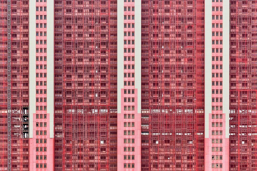 Fotografie RED ROAD V - SIMON BUTTERWORTH - Bildermalerei