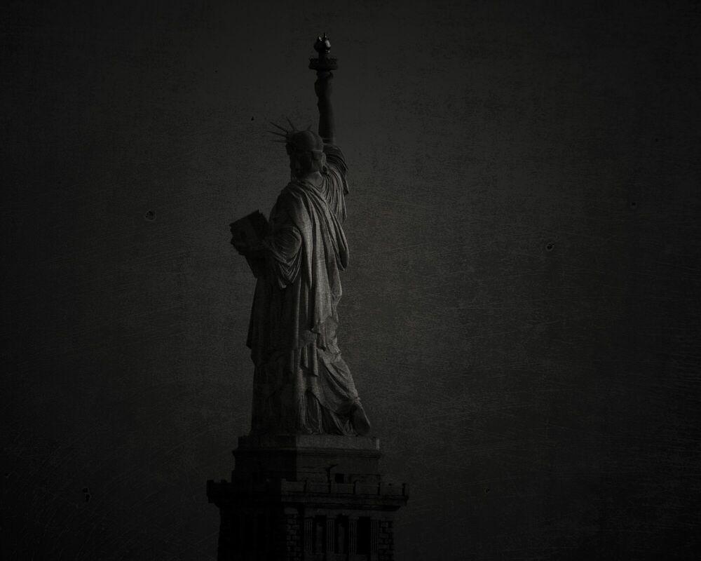 Kunstfoto Statue of Liberty - STEPHANE LOUIS - Foto schilderij