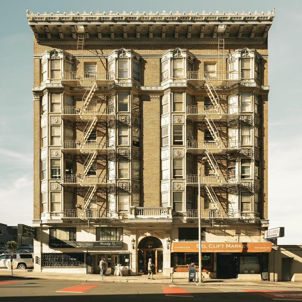 Fotografia BEL CLIFT MARKET - THIBAUD POIRIER - Pittura di immagini