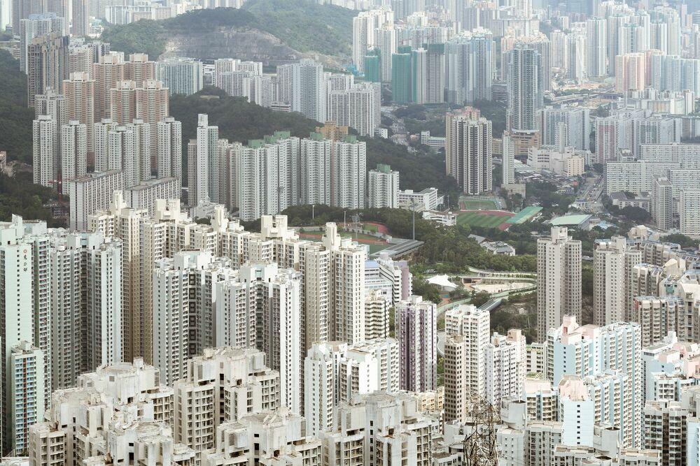 Fotografie HONG KONG RESIDENSITY - THIBAUD POIRIER - Bildermalerei