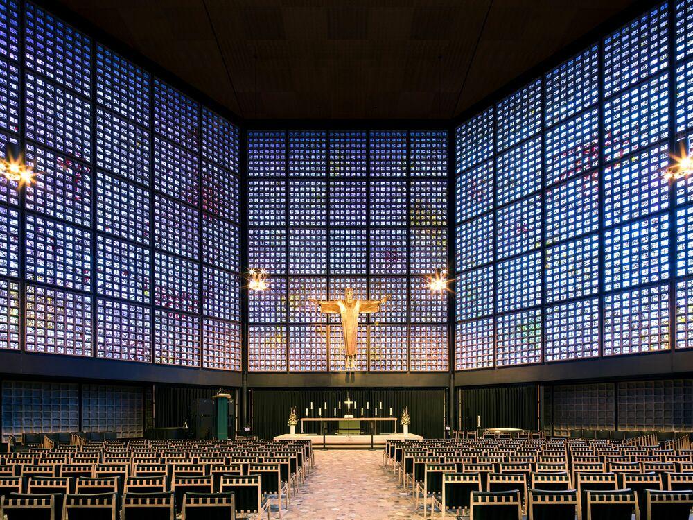 Fotografie KAISER MEMORIAL CHURCH - THIBAUD POIRIER - Bildermalerei