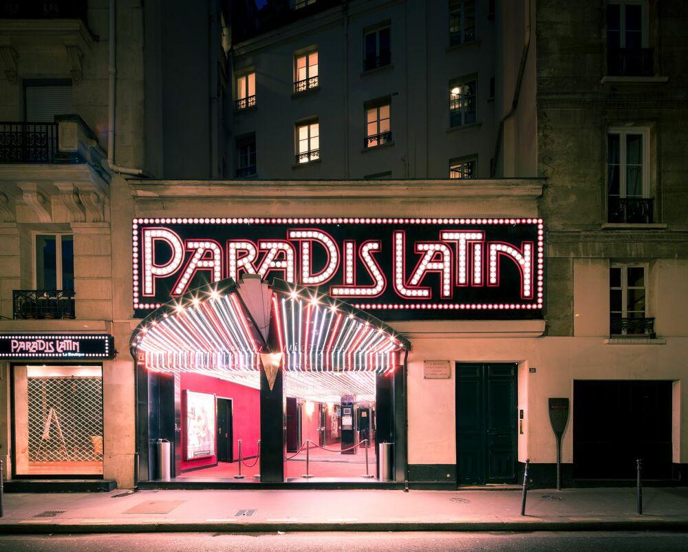 Fotografía LE PARADIS LATIN - THIBAUD POIRIER - Cuadro de pintura