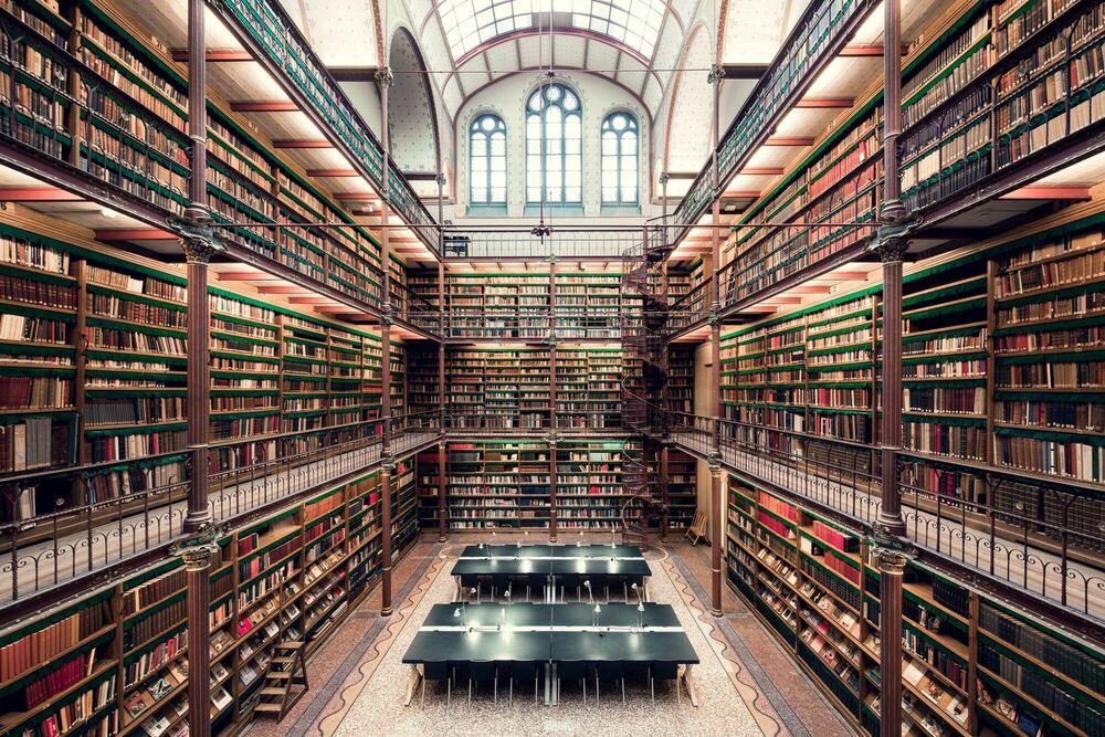 Fotografía RIJKSMUSEUM LIBRARY - THIBAUD POIRIER - Cuadro de pintura