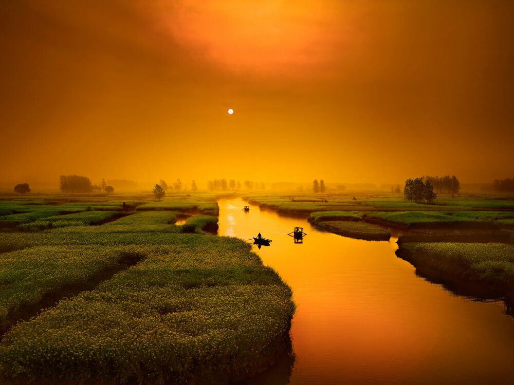 Photograph Boat Story - THIERRY BORNIER - Picture painting