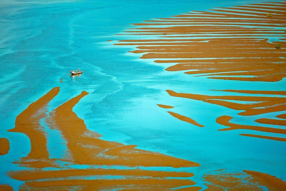 Fotografie Tales of the blue water - THIERRY BORNIER - Bildermalerei