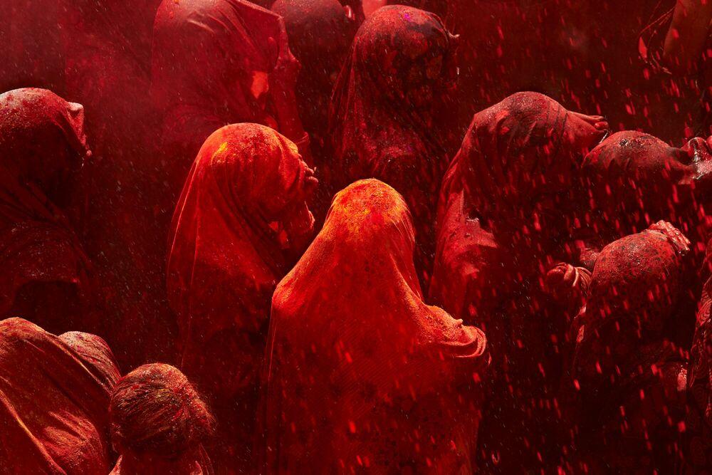 Fotografia HOLI FESTIVAL - TUUL ET BRUNO MORANDI - Pittura di immagini
