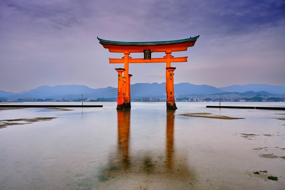 Photograph The Great Torii - TUUL ET BRUNO MORANDI - Picture painting