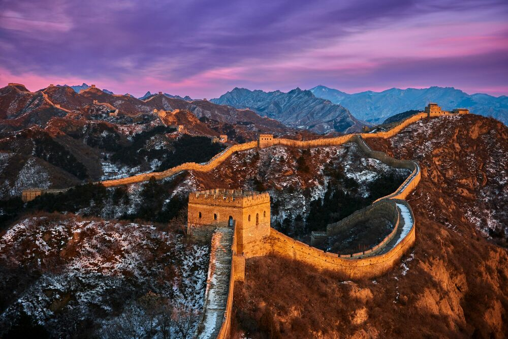 Photographie The Great Wall - TUUL ET BRUNO MORANDI - Tableau photo