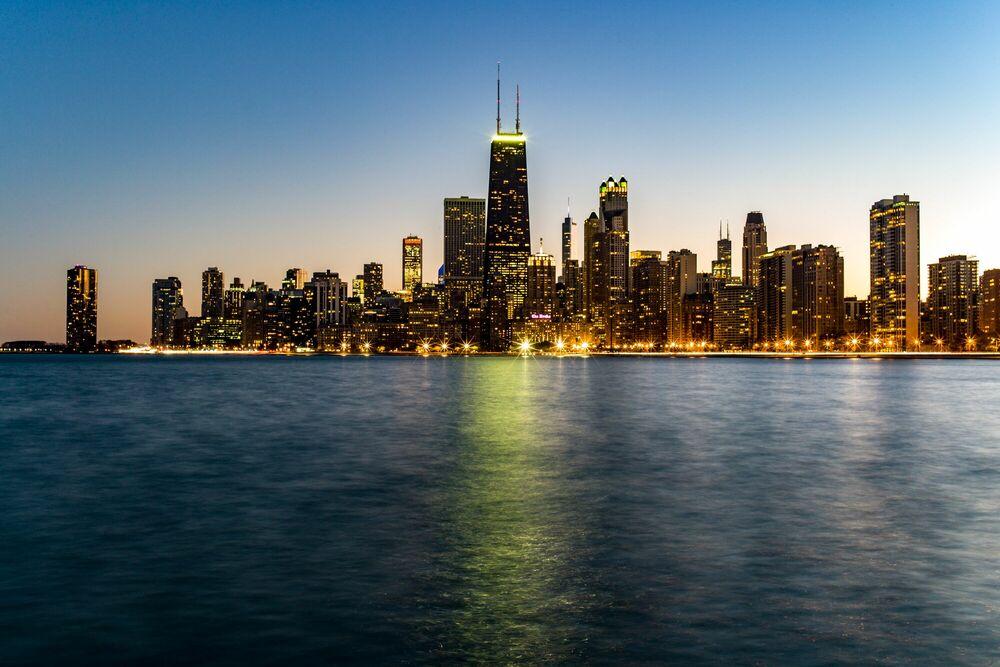 Photographie CHICAGO IV - VINCENT GARNIER - Tableau photo