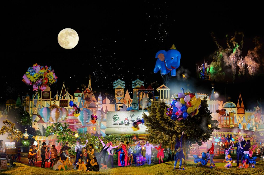 Fotografia NIGHT PARADISE - VINCI WENG - Pittura di immagini