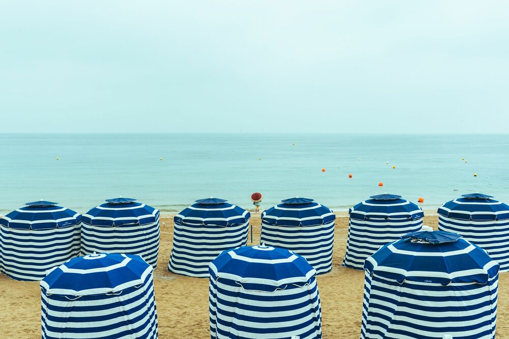 Photograph CABOURG PLAGE - VUTHEARA KHAM - Picture painting