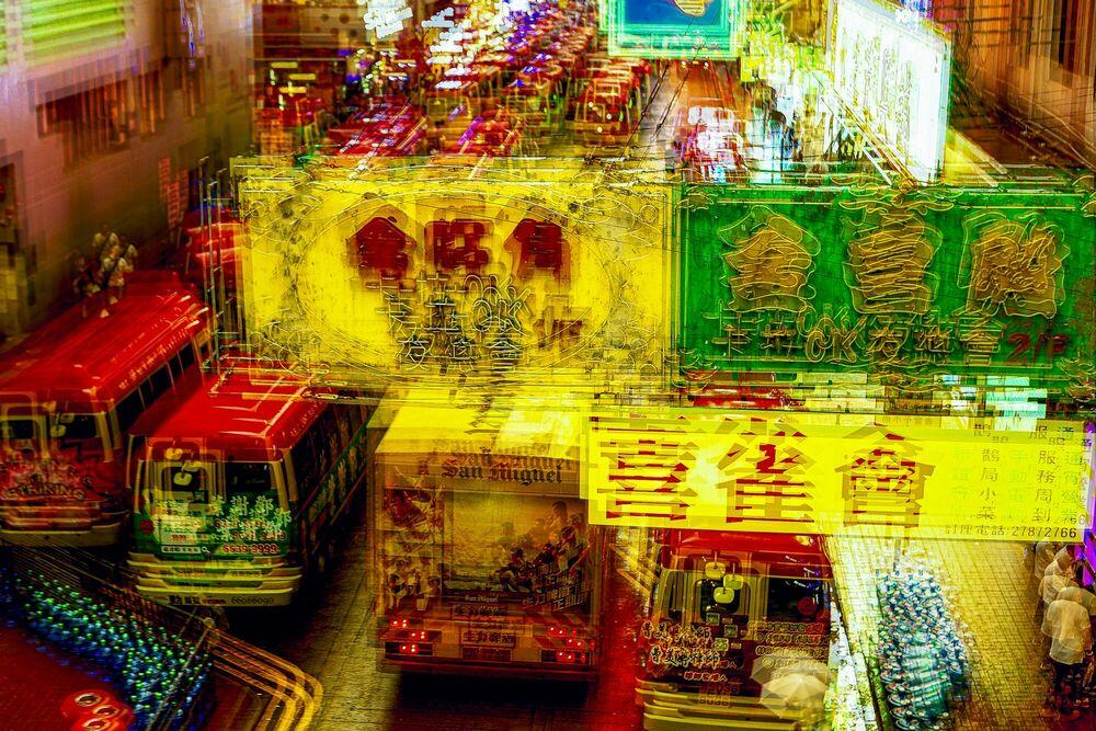Fotografie Hong Kong Nights - Yancho Sabev - Bildermalerei