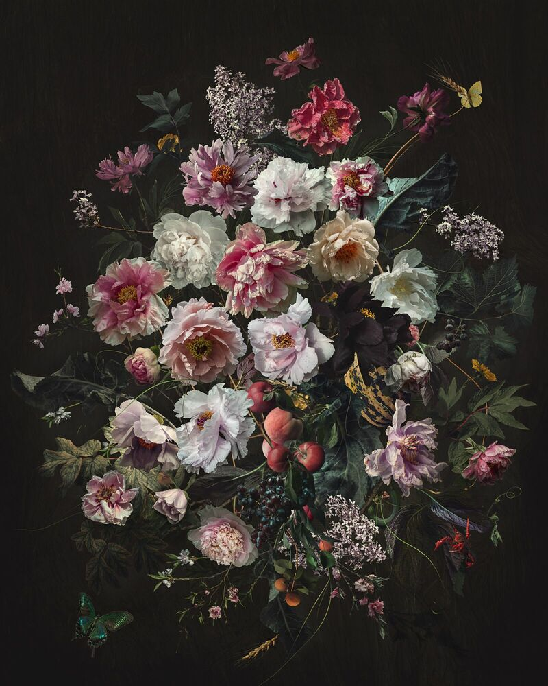 Photograph FLOWERS AND FRUIT - YANG BIN - Picture painting