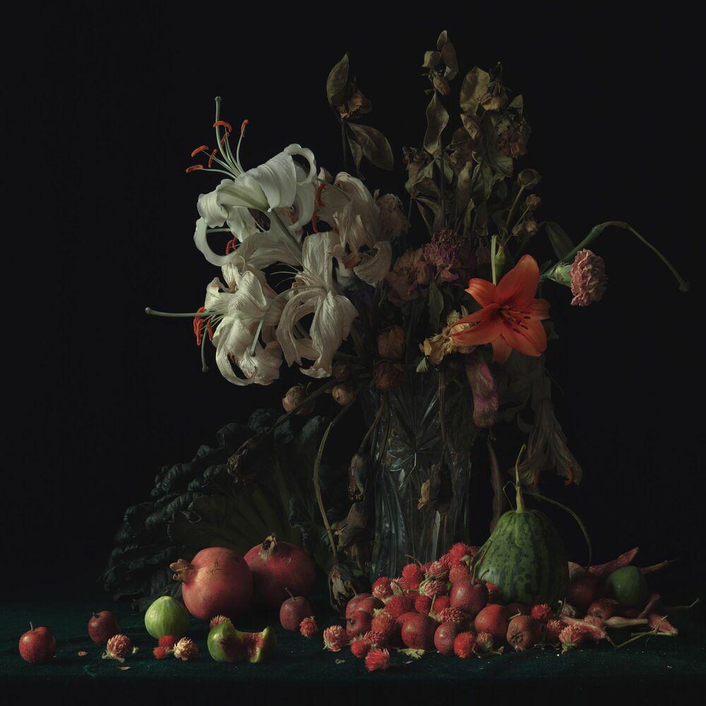 Fotografie Lily Orange - YANG BIN - Bildermalerei