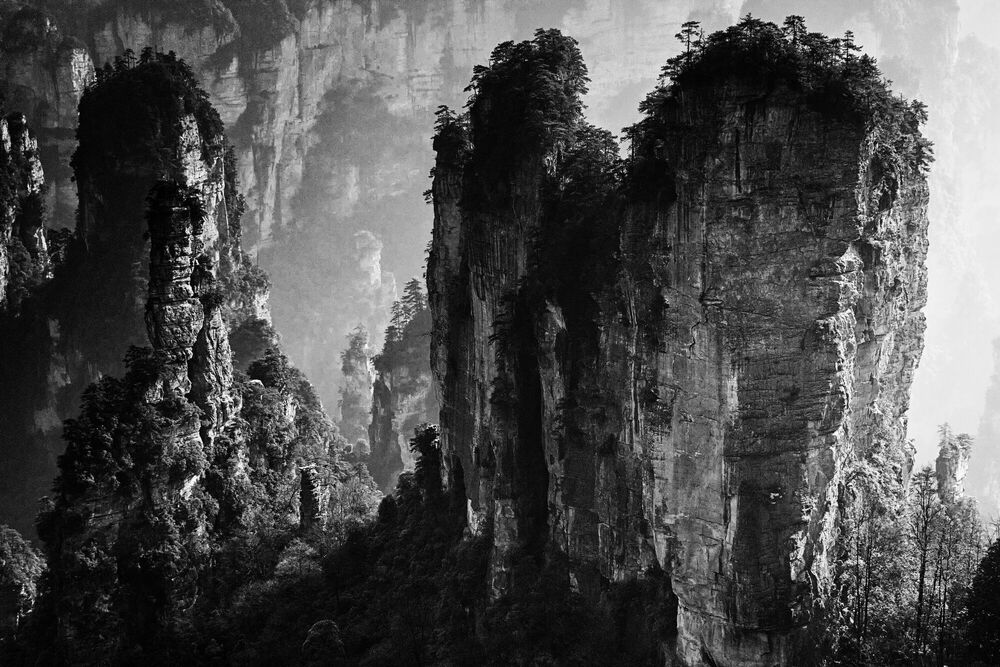 Fotografia ZHANGJIAJIE STUDY 2 - YI SUN - Pittura di immagini