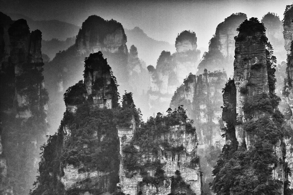 Fotografia ZHANGJIAJIE STUDY 3 - YI SUN - Pittura di immagini
