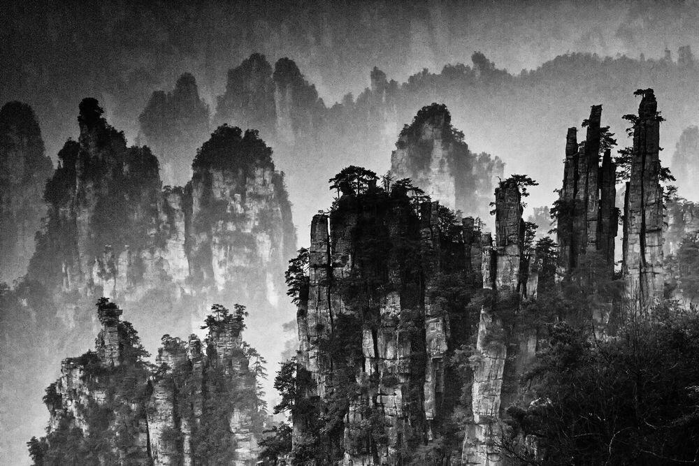 Fotografia ZHANGJIAJIE STUDY 4 - YI SUN - Pittura di immagini