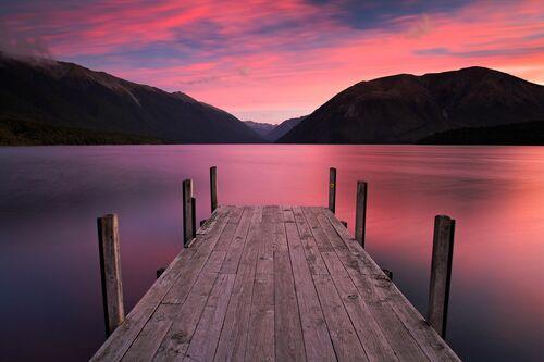 Aotearoa Pinks - ADAM BURTON - Fotografia