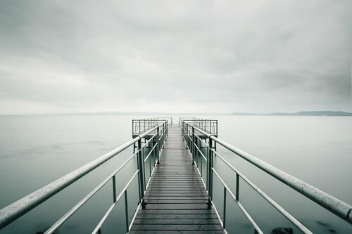 Blue Pier - AKOS MAJOR - Fotografie