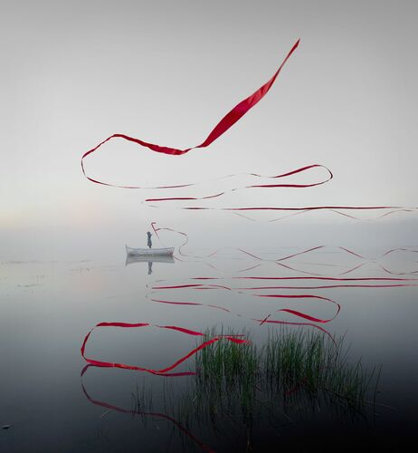 Le ruban - ALASTAIR MAGNALDO - Photographie