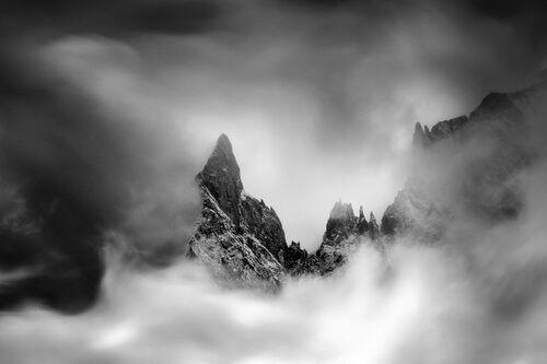 Aiguille noire de Peuterey - ALEXANDRE DESCHAUMES - Kunstfoto
