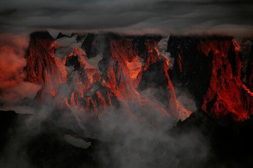 Aiguilles de Chamonix - ALEXANDRE DESCHAUMES - Photographie