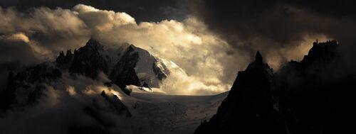 Aiguilles massif du Mont-Blanc - ALEXANDRE DESCHAUMES - Kunstfoto
