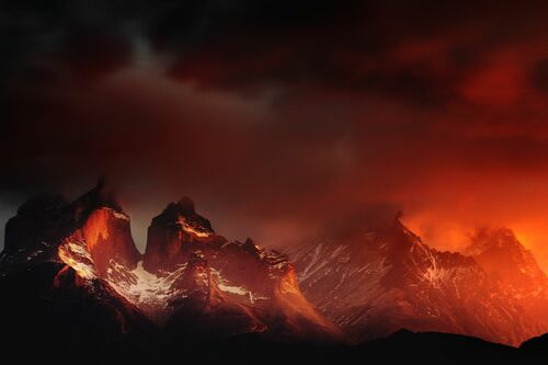 Massif Torres del Paine Chili - ALEXANDRE DESCHAUMES - Photograph