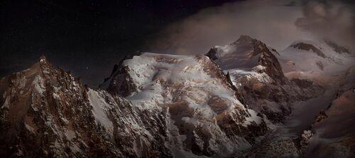 Nocturne au massif du Mont-Blanc - ALEXANDRE DESCHAUMES - Photographie
