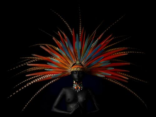 MAYA QUEEN 1 - ALFREDO SANCHEZ - Photograph