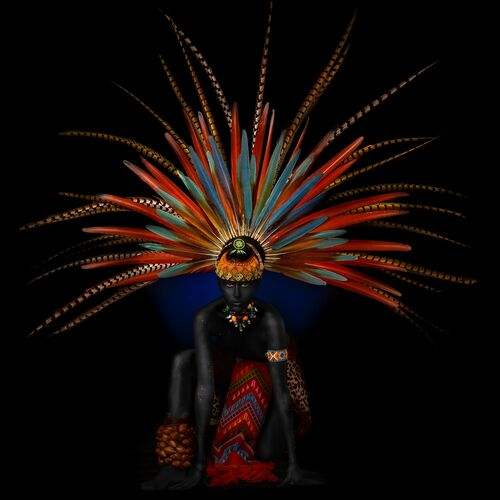 MAYA QUEEN 2 - ALFREDO SANCHEZ - Photograph