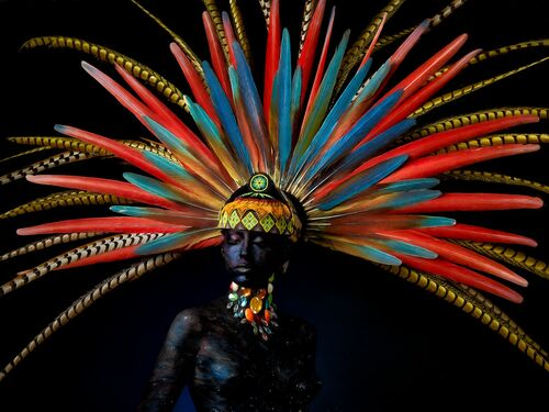 MAYA QUEEN AWAKENING - ALFREDO SANCHEZ - Photograph