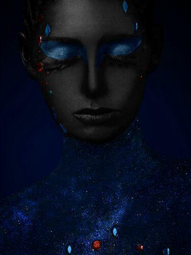 YA AXKA BLUE - ALFREDO SANCHEZ - Photographie