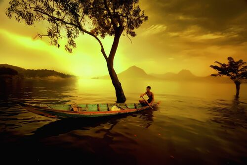Nelayan Jatiluhur - ANDRE ARMENT - Fotografia