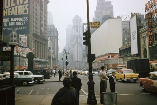 West 47th street - ANDRE ROBE - Photographie