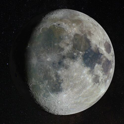 WAXING GIBBOUS - ANDREW MCCARTHY - Photograph