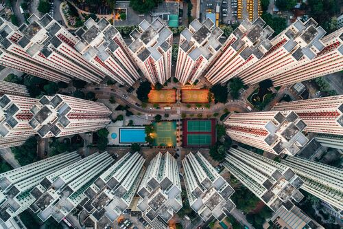 WALLED CITY 3 - ANDY YEUNG - Fotografia
