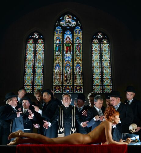 MESSE NOIRE - BART RAMAKERS - Photograph