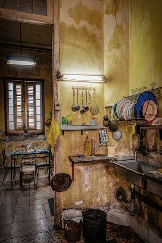 LA CUCINA CUBA I - BERNHARD HARTMANN - Photographie
