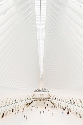 WORLD TRADE CENTER MTA TRAIN STATION - BERNHARD HARTMANN - Photographie