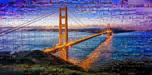 GOLDEN GATE - CHARIS TSEVIS - Fotografie