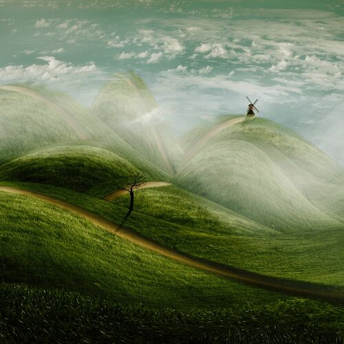 Fantasielandschaft - CHRISTINE ELLGER - Photographie