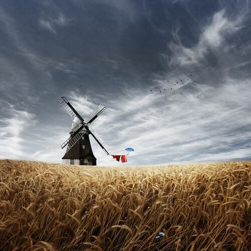 WINDMÜHLE - CHRISTINE ELLGER - Photographie