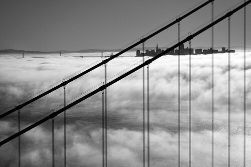 Golden Gate And San Francisco Skyline - CHRISTOPHER BLISS - Photographie