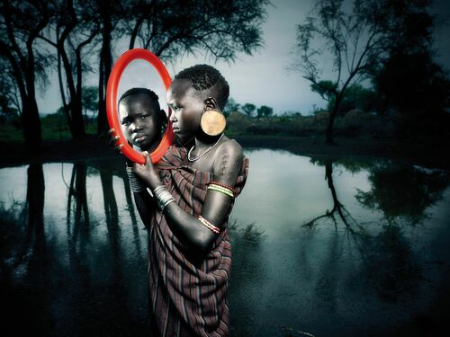 Mirror Faces of EIthiopia II - CINTIA BARROSO ALEXANDER - Photograph